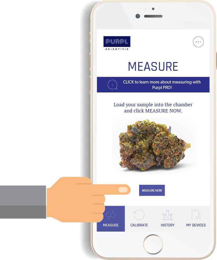 Purpl PRO Cannabis Measurement