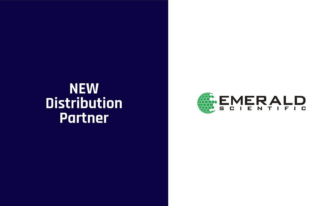 NEW DISTRIBUTOR: Emerald Scientific