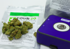 Purpl PRO with Cannabis Sample