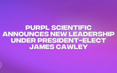 Purpl Scientific Announces New Leadership Under President-Elect James Cawley
